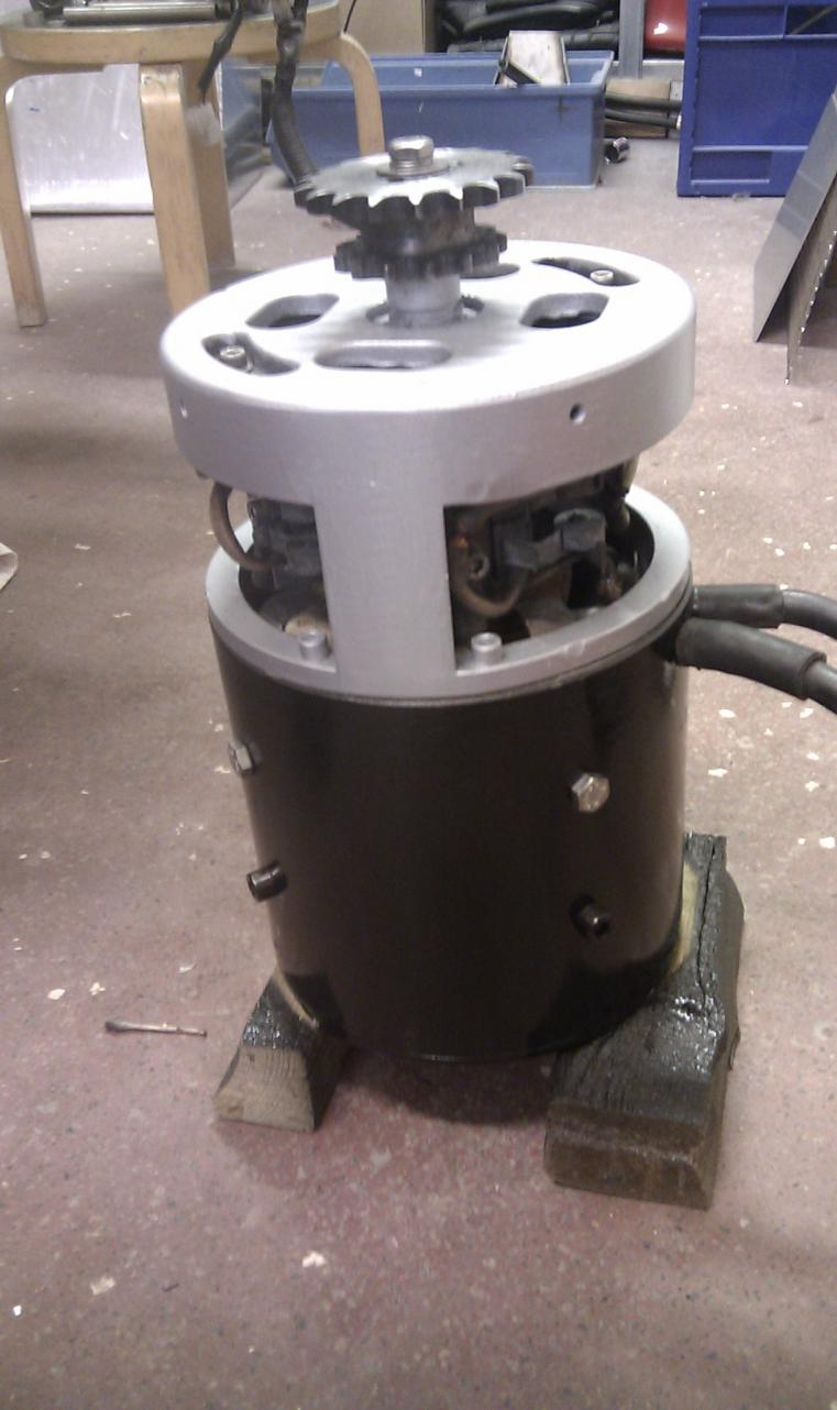 "Motor 7,5"" serial motor from forklift"